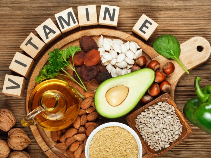 Breast cancer risk with vitamin e